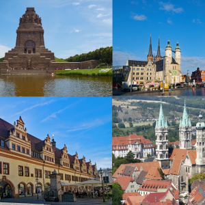 Städtereise Leipzig, Halle, Naumburg